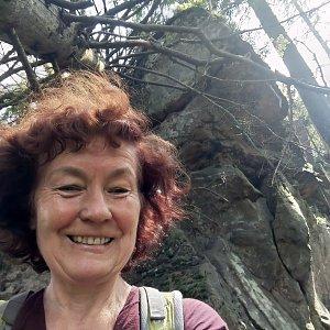 Anna na vrcholu Nad Kršlí (20.6.2021)