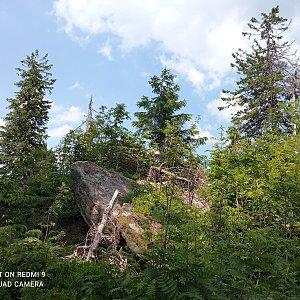 Alžběta Šlosarová na vrcholu Nad Kršlí (19.6.2021 14:04)