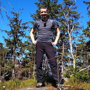 PeteBukař na vrcholu Nad Kršlí (22.4.2019 11:00)