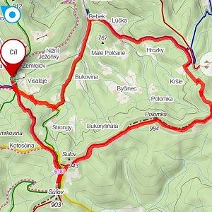 Ivana Urbánková na vrcholu Nad Kršlí (31.8.2021 11:48)