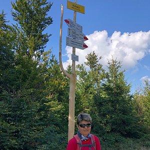 Radka Dubská na vrcholu Kotarz (4.9.2021 14:41)