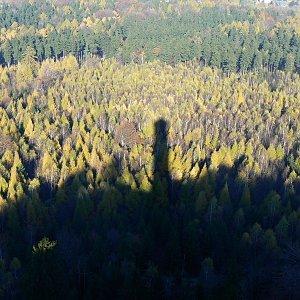 Iveta Válová na vrcholu Hochwald (29.10.2010 11:37)