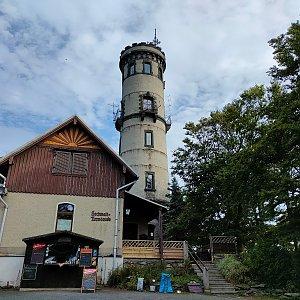 Radek Vohryzka na vrcholu Hochwald (26.9.2021 10:15)