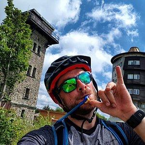 Vašek Slavík na vrcholu Čerchov (26.7.2020 14:44)