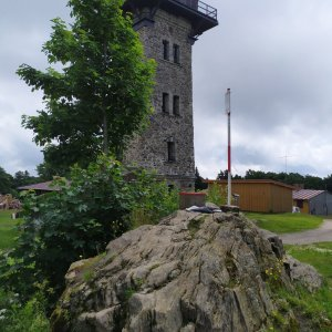 ŠenovKK na vrcholu Čerchov (8.7.2021 12:29)