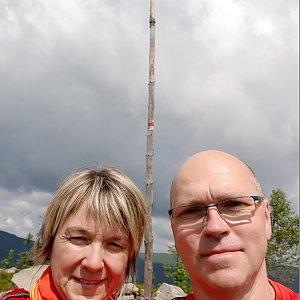 BUKY a IRČA na vrcholu Magurka Radziechowska (12.7.2020 10:43)