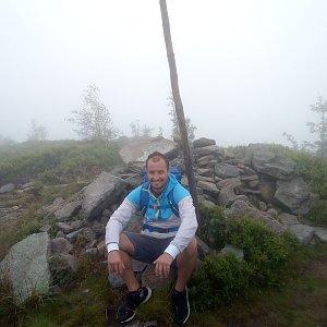 Bartek_na_cestach na vrcholu Magurka Radziechowska (18.7.2020 10:40)