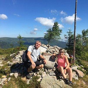 V+R na vrcholu Magurka Radziechowska (1.8.2020 9:40)