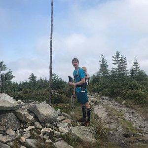David na vrcholu Magurka Radziechowska (1.8.2020 12:30)