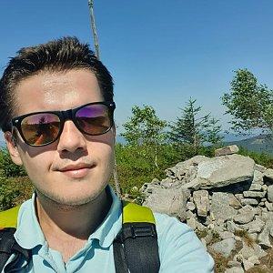 Luke na vrcholu Magurka Radziechowska (22.8.2020 13:46)