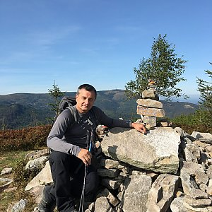 Jarek na vrcholu Magurka Radziechowska (19.9.2020 14:36)