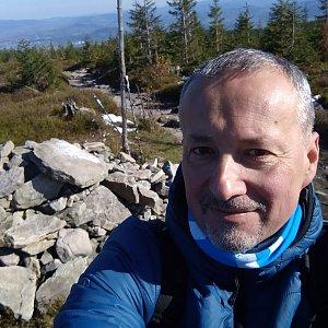 Merkys na vrcholu Magurka Radziechowska (20.10.2020 12:00)