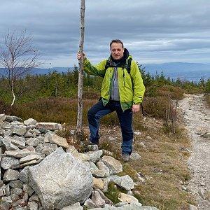 Pery na vrcholu Magurka Radziechowska (14.11.2020 12:26)