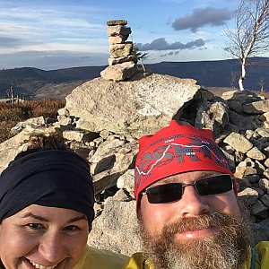 Moty na vrcholu Magurka Radziechowska (6.12.2020 13:41)