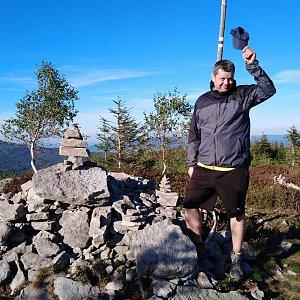 Ombre_Zamakejsi.cz na vrcholu Magurka Radziechowska (18.9.2020 16:29)