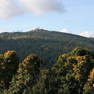 Bouřka na vrcholu Zlatovec (28.9.2021 9:52)