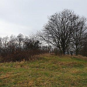 Petr Pepe Peloušek na vrcholu Černý kopeček (11.1.2020 12:21)