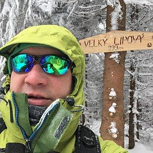 Pery na vrcholu Velký Lipový (25.2.2018 13:18)