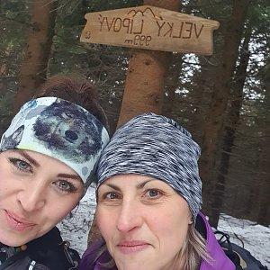 Nýdecká horalka na vrcholu Velký Lipový (18.1.2020)