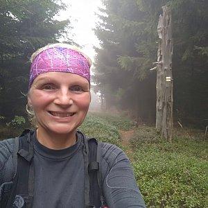 Katka na vrcholu Lví hora (1.9.2018 16:14)