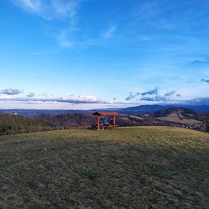 ŠenovKK na vrcholu Na Magoni (29.12.2020 14:12)