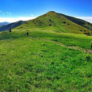 Martin Matějka na vrcholu Králička (21.6.2016 10:27)