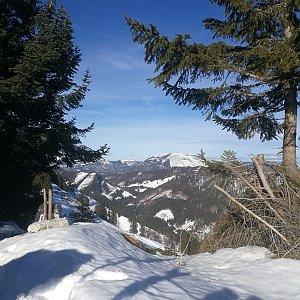 martenzites na vrcholu Schwarzkogel (1.2.2020 10:52)
