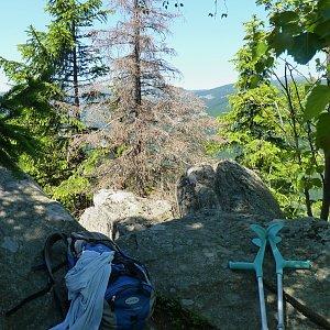 Mountainer na vrcholu Vlašský vrch (4.7.2014 13:01)