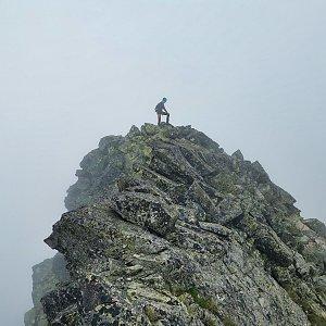 Ondra Horáček na vrcholu Malý Javorový štít (23.7.2021 14:14)