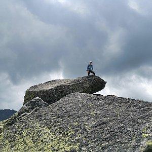 Ondra Horáček na vrcholu Strelecká veža (24.7.2021 13:49)