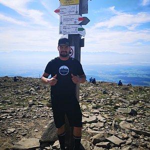 Dajik90 na vrcholu Babia Hora (10.8.2019 10:13)