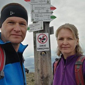 ZetBé na vrcholu Babia Hora (16.8.2019 9:38)