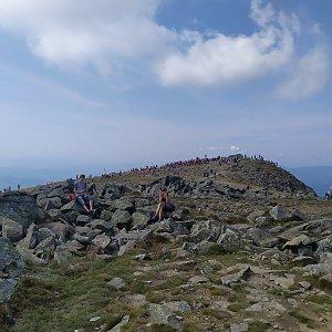 ŠenovKK na vrcholu Babia Hora (24.8.2019 11:18)