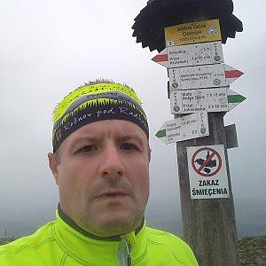 Vítězslav Vrána na vrcholu Babia Hora (7.9.2019 10:04)