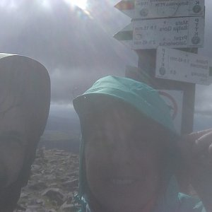 prochyz na vrcholu Babia Hora (29.9.2019 14:01)