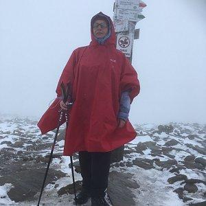 Kamka na vrcholu Babia Hora (5.10.2019 14:10)