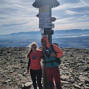 Fíkus na vrcholu Babia Hora (12.10.2019 10:50)