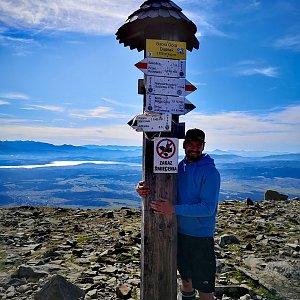 Dajik90 na vrcholu Babia Hora (12.10.2019 11:32)
