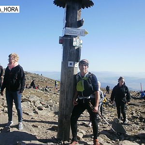 Čestmír Kubíček na vrcholu Babia Hora (27.10.2019 10:27)