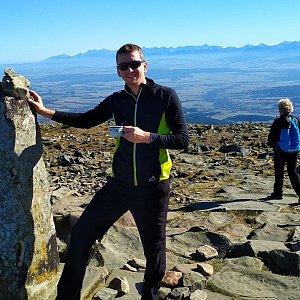 PeteBukař na vrcholu Babia Hora (14.10.2019 14:31)