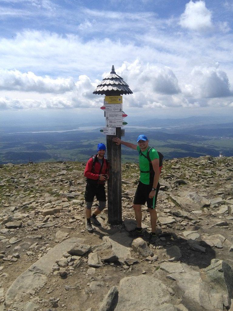 pa3k.soyka na vrcholu Babia Hora (25.5.2018 10:52)