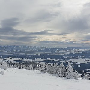 Martaska na vrcholu Babia Hora (22.2.2020 13:41)