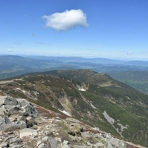 Ladislav Farý na vrcholu Babia Hora (6.6.2020 11:00)