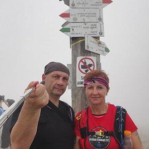 Dana + jirka na vrcholu Babia Hora (14.6.2020 13:17)