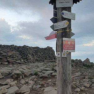 Kubas na vrcholu Babia Hora (23.6.2020 20:39)