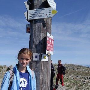 bebe na vrcholu Babia Hora (18.9.2020 12:54)