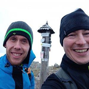 Radek na vrcholu Babia Hora (26.10.2020 14:44)