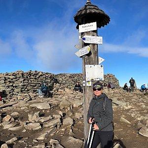 Magda na vrcholu Babia Hora (17.11.2020 13:20)
