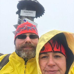 Macinka na vrcholu Babia Hora (14.11.2020 13:00)