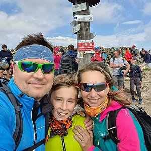 filipka na vrcholu Babia Hora (5.9.2020 13:03)